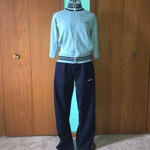 Adidas Retro women track suit